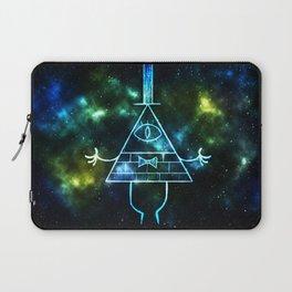 Neon Bill Cipher Laptop Sleeve