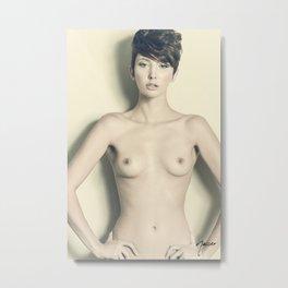 5993 Natasha Au Naturel - Boudoir Eros Studio Beauty Nude Metal Print