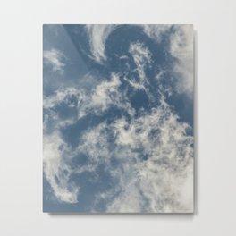 Cloud Patterns Metal Print