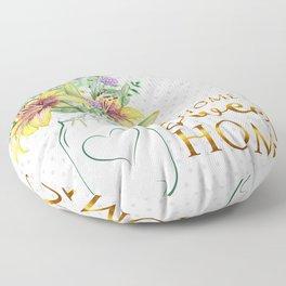 Mason Jar #2 Floor Pillow