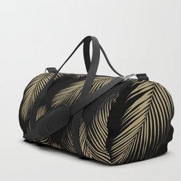 Palm Leaves - Gold Cali Vibes #4 #tropical #decor #art #society6 Duffle Bag