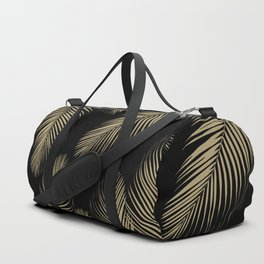 Palm Leaves - Gold Cali Vibes #4 #tropical #decor #art #society6 Duffle Bag