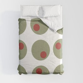 Whimsical Olives  Comforters