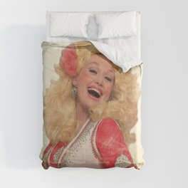 Dolly Parton - Watercolor Comforters