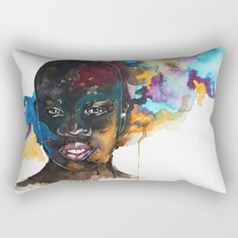Summer Rain Rectangular Pillow