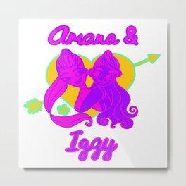 Ariana Grande Ft. Iggy Azalea #2 Metal Print