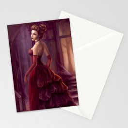 Don't Look Back - fantasy art Stationery Cards