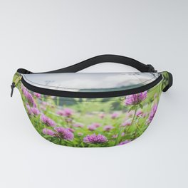 Pink Country Wildflowers   Europe Switzerland Nature Landscape Plant Photography Fanny Pack