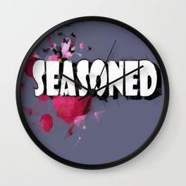 Seasoned by Choc Wall Clock