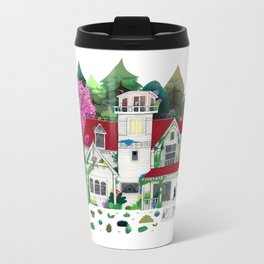 House  Metal Travel Mug