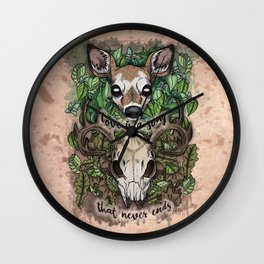 Love is a Song (2017) Wall Clock