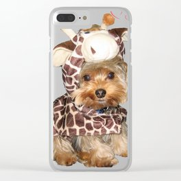 Yorkie Giraffe | Yorkies | Dogs | nb Clear iPhone Case