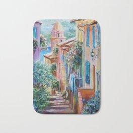 Colors of Collioure, France Bath Mat