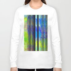 Yellow Color Blinds Long Sleeve T-shirt