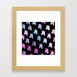 UNICORNS! Framed Art Print