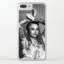 Show Girl Clear iPhone Case