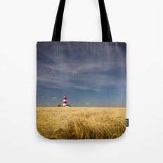 Happisburgh Lighthouse Tote Bag