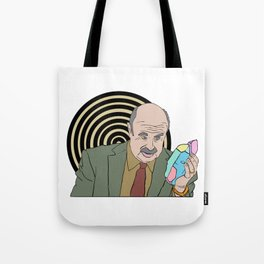 Dr Phil McGraw Seduced by a Forbidden Dimension Tote Bag