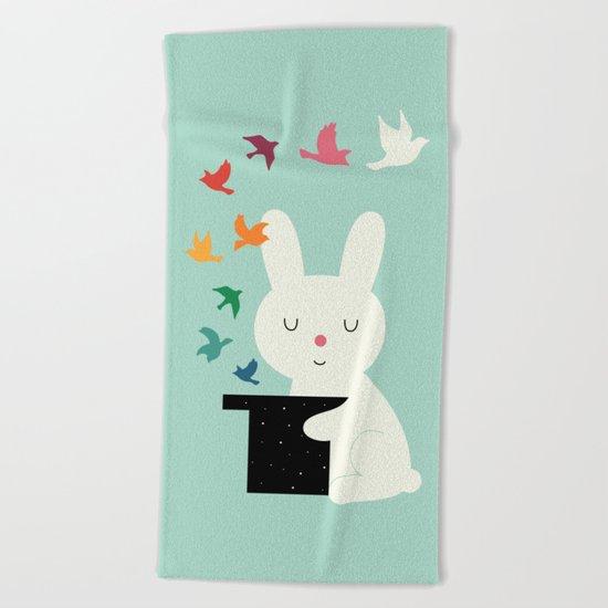 Magic Of Peace Beach Towel