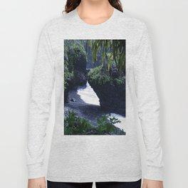 Honomaele Hana Maui Hawaii Long Sleeve T-shirt