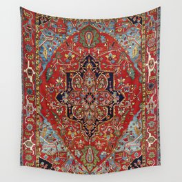 Heriz  Antique Persian Rug Print Wall Tapestry