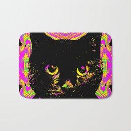 Purple Streak Quad Cat Bath Mat