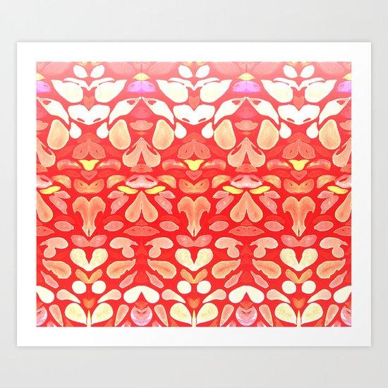 Autumn Fall Sunburn for the Summer Memories Art Print
