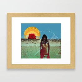 Must Have Been the Roses Framed Art Print