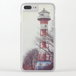 to the lighthouse Clear iPhone Case