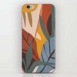Abstract Art Jungle iPhone Skin