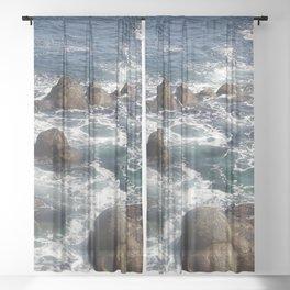 California Coast 01 Sheer Curtain