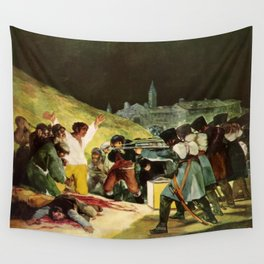 The Third Of May 1808 By Francisco Goya Wall Tapestry