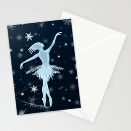 Snow Dancer Stationery Cards