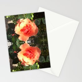 Rose quad 198 Stationery Cards