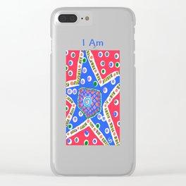 I Am a Star Clear iPhone Case
