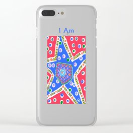 I Am a Star Clear iPhone Case
