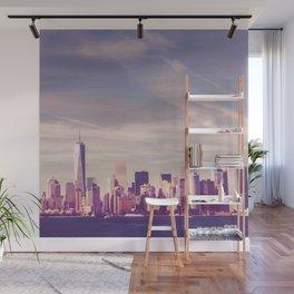 New York City Skyline Waterfront Wall Mural