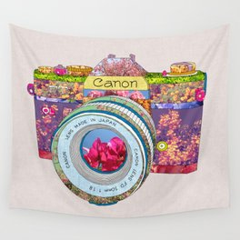 FLORAL CAN0N Wall Tapestry