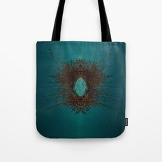 triangleface Tote Bag