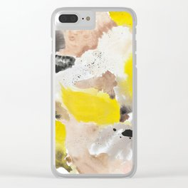 September Morning on the Island Clear iPhone Case