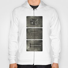 Dad used to make things (triptych one) Hoody
