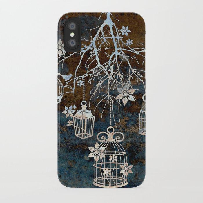Bird Cage Chandelier iPhone Case