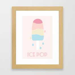 IcePop Framed Art Print