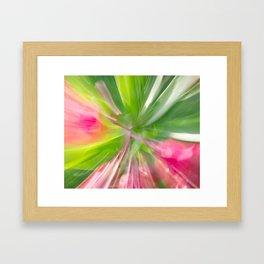 Follow the Leaf Framed Art Print