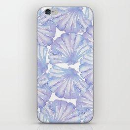 Shell Ya Later - Purple Seashell Pattern iPhone Skin