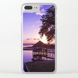 Sunset at Heritage Park Clear iPhone Case