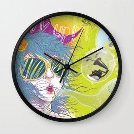 Hurry Up! Wall Clock