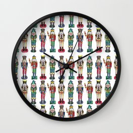 The Nutcracker Prince Pattern Wall Clock