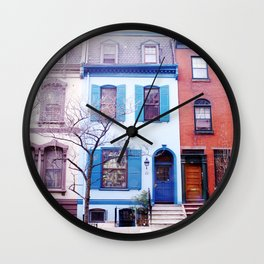 The Smurf House Wall Clock