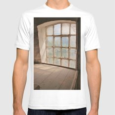 A Millers View SMALL White Mens Fitted Tee